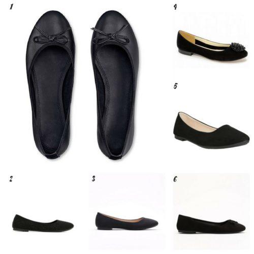 Uniwersalna szafa i moje modowe must- have- 10 bazowych elementów czarne baleriny