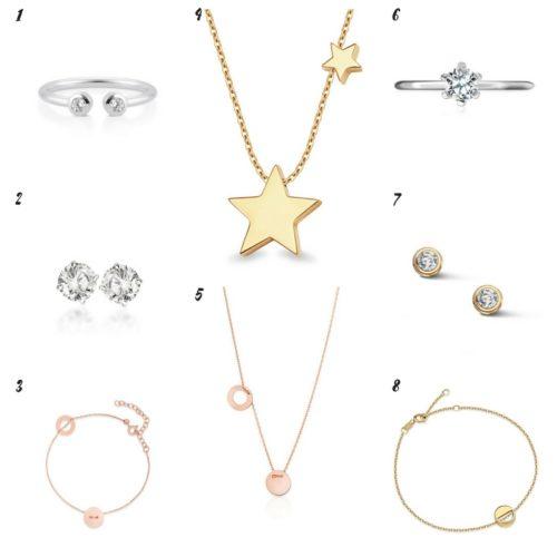 Uniwersalna szafa i moje modowe must- have- 10 bazowych elementów delikatna biżuteria