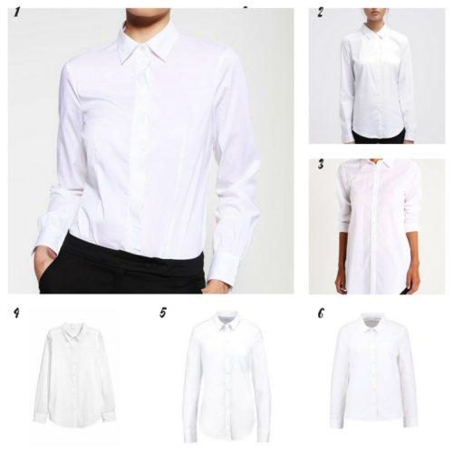 Uniwersalna szafa i moje modowe must- have- 10 bazowych elementów biała koszula