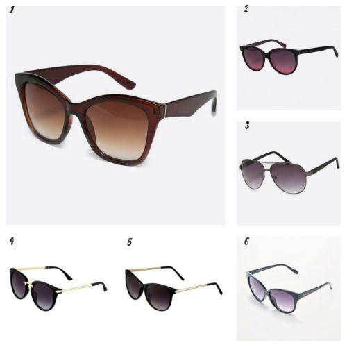 Uniwersalna szafa i moje modowe must- have- 10 bazowych elementów ciemne okulary przeciwsłoneczne