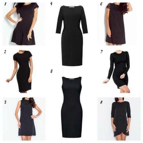 Uniwersalna szafa i moje modowe must- have- 10 bazowych elementów mała czarna sukienka