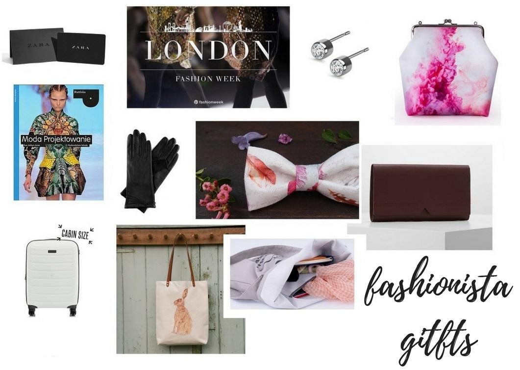Prezenty dla fashionistki- upominki dla kobiety, która kocha modę. prezenty