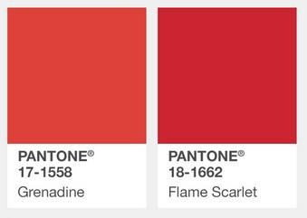 Z czym nosić czerwień? Jakie kolory pasują do czerwieni? kolory pantone czerwień jesień zima 2017 2018
