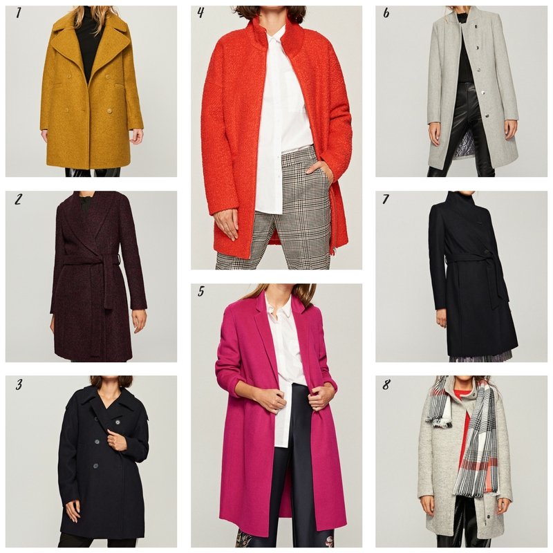 Jaki płaszcz wybrać na zimę? Przegląd sieciówek. płaszcze reserved