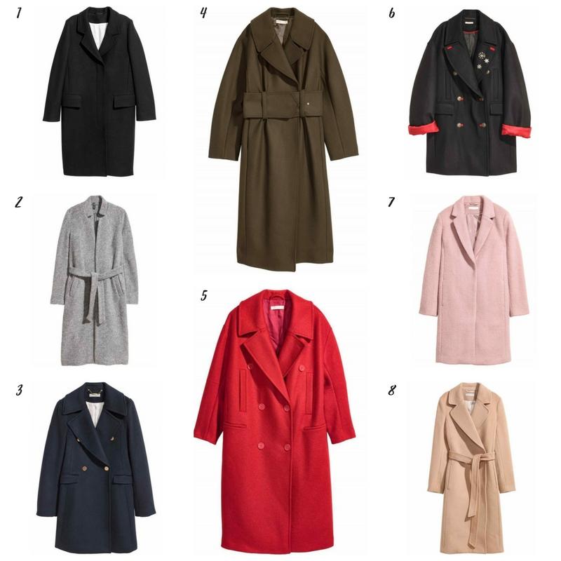 Jaki płaszcz wybrać na zimę? Przegląd sieciówek. płaszcze h%m