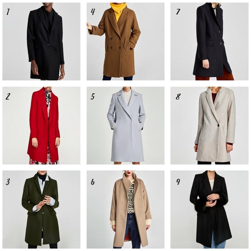 Jaki płaszcz wybrać na zimę? Przegląd sieciówek. płaszcze zara