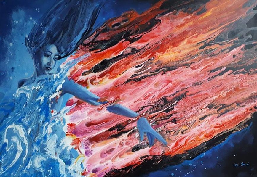 Spełniaj marzenia. Rozmowa z artystką, plastykiem Anią Jancy-Drygiel. obraz artysty
