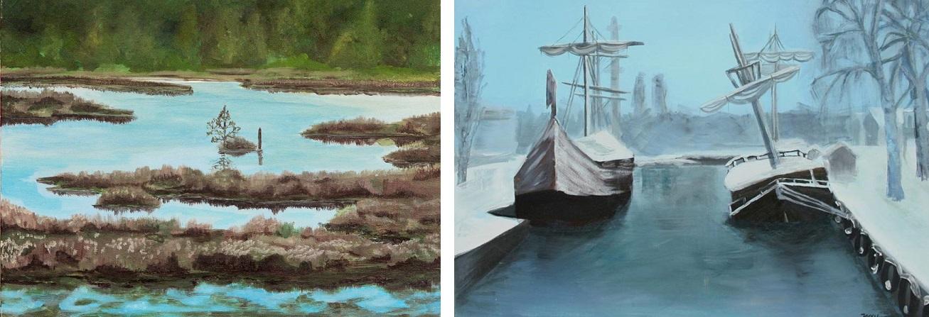 Spełniaj marzenia. Rozmowa z artystką, plastykiem Anią Jancy-Drygiel. obrazy farbami