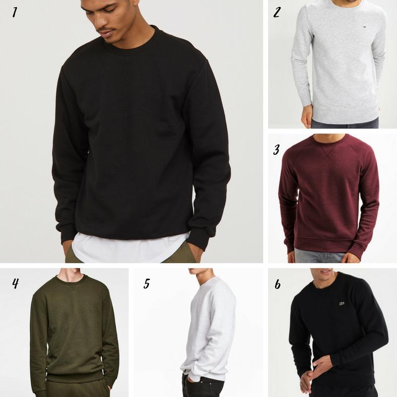 Uniwersalna szafa mężczyzny- 14 bazowych elementów (wiosna-lato). bluza męska