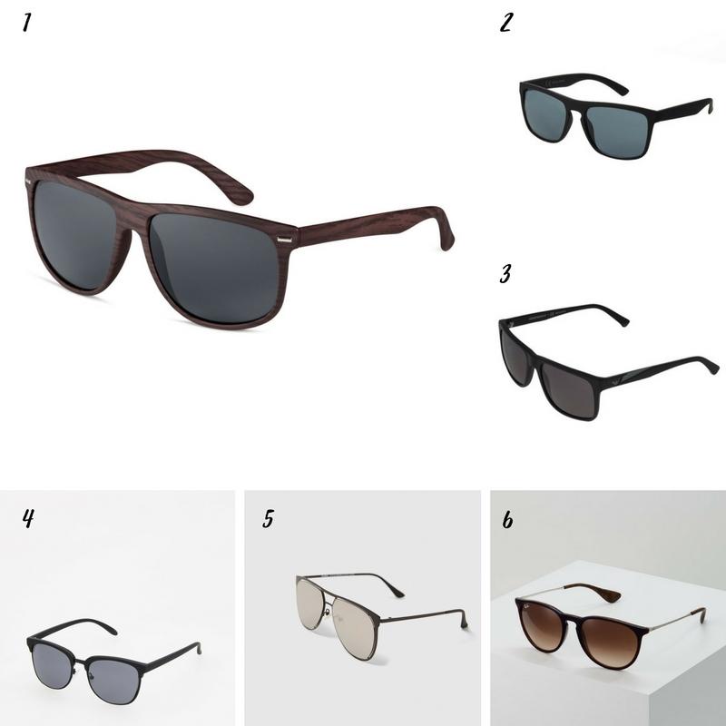 Uniwersalna szafa mężczyzny- 14 bazowych elementów (wiosna-lato). okulary męskie