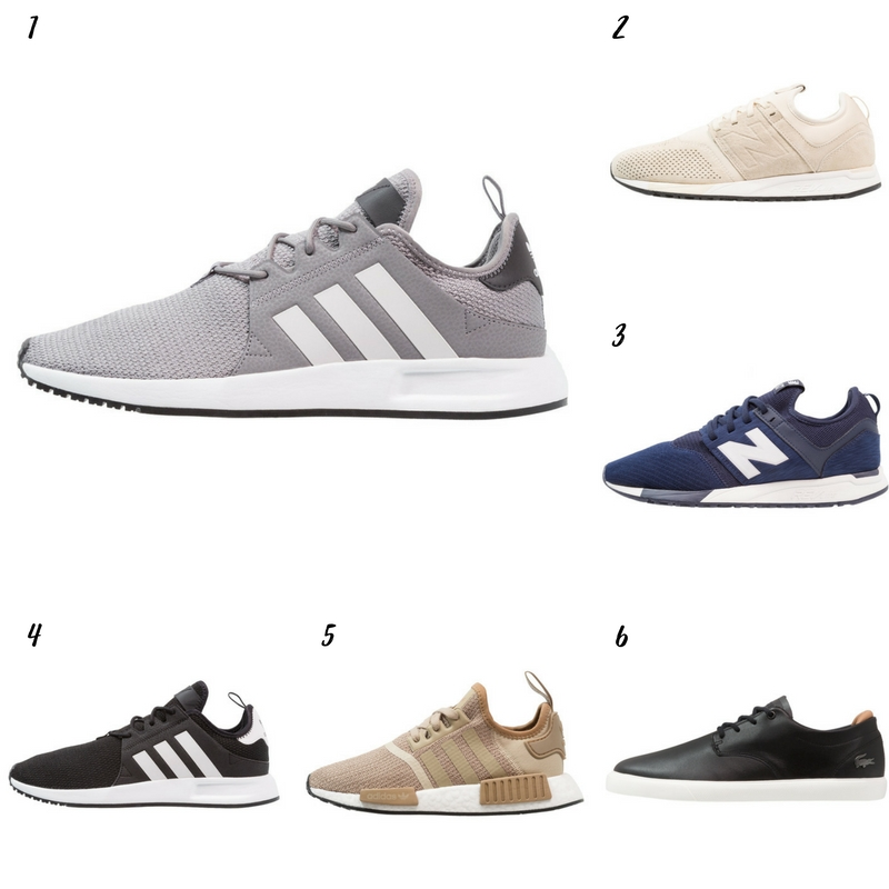 Uniwersalna szafa mężczyzny- 14 bazowych elementów (wiosna-lato). buty męskie sportowe